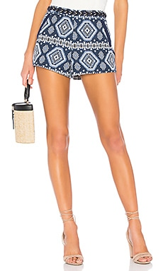 Nordic Pattern Short Endless Rose $78 BEST SELLER