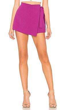 Купить Юбку-шорты - Endless Rose фиолетового цвета
