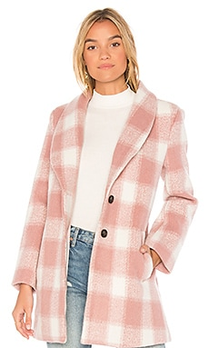 Oversized Checkered Printed Jacket