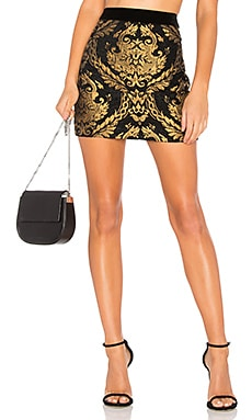 Brocade Mini Skirt Endless Rose $65