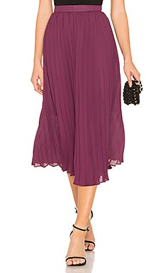 Pleated Midi Skirt Endless Rose $78