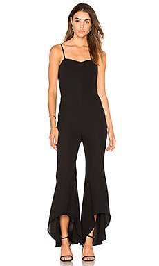 High Low Flare Jumpsuit