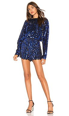 Sequin Romper Endless Rose $125 NEW ARRIVAL