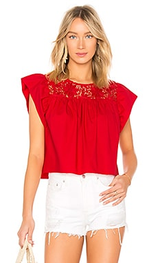 Cropped Baby Doll Blouse Endless Rose $37