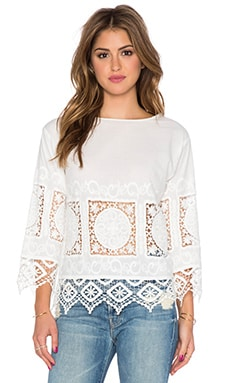 TOP MANCHES LONGUES CROCHET