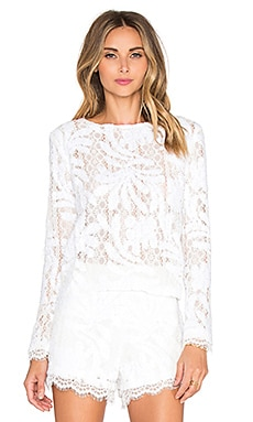 Endless Rose Marella Top in Off White