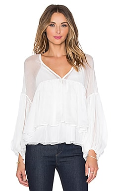 Endless Rose Brisa Alize Top in Off White