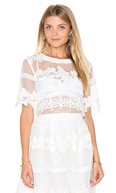 Fayette Top in Off White