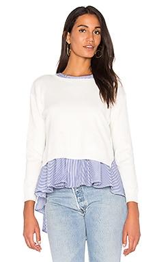Sweater Combo Stripe Top