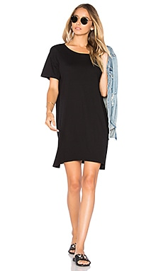 Boy Tee Dress in Black