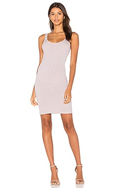 X REVOLVE Rib Tank Mini Dress in Beige Lilac