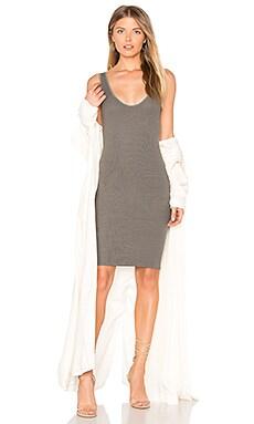 X REVOLVE Rib Tank Mini Dress