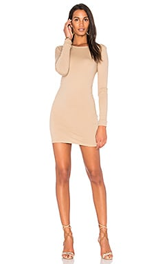 Long Sleeve Crewneck Mini Dress