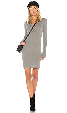 Cashmere Cuffed Mini Dress