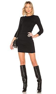 Cashmere Ruched Mini Dress Enza Costa $297