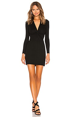 Rib Twisted Mini Dress Enza Costa $198