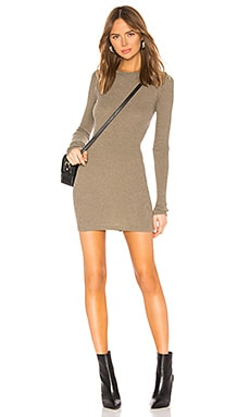 Cashmere Thermal Mini Dress Enza Costa $242