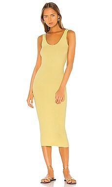 Rib Tank Midi Dress Enza Costa $145