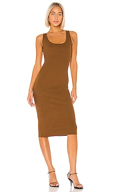 Rib Tank Midi Dress Enza Costa $135