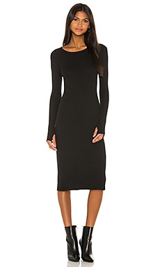 X REVOLVE Rib Midi Dress Enza Costa $169