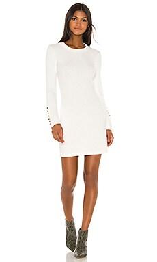 Button Cuff Mini Dress Enza Costa $220