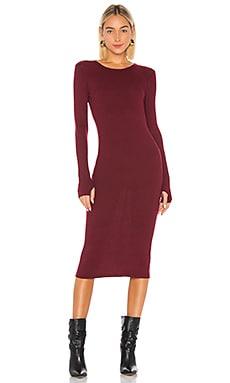 X REVOLVE Rib Midi Dress Enza Costa $169