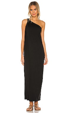 Matte Jersey One Shoulder Maxi Dress Enza Costa $224 BEST SELLER