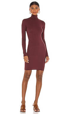 X REVOLVE Turtleneck Mini Dress Enza Costa $185