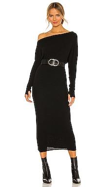 Sweater Knit Slouch Dress Enza Costa $264