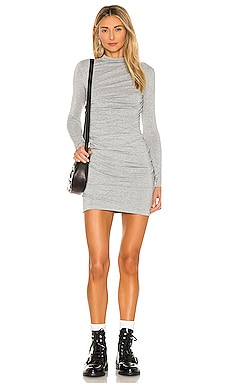 X REVOLVE Lurex Jersey Mini Dress Enza Costa $297