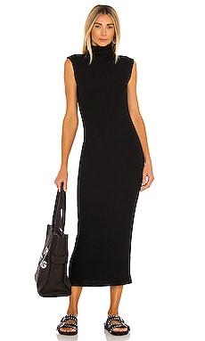 Sweater Knit Sleeveless Turtleneck Dress Enza Costa $246