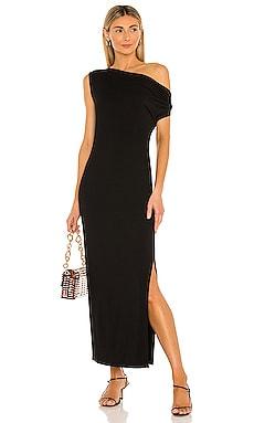 Exposed Shoulder Maxi Dress Enza Costa $248