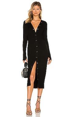 Rib Cardigan Dress Enza Costa $295
