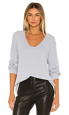 Long Sleeve Sweater Enza Costa $165 BEST SELLER