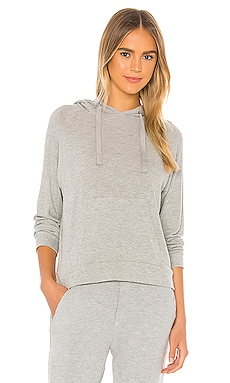 Peached Jersey Easy Hoodie Enza Costa $165