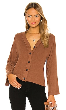 Sweater Knit Cardigan Enza Costa $196 NEW