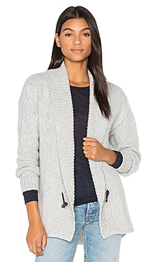 Cocoon Cardigan in Ash