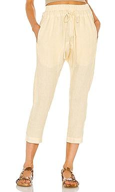 Linen Droprise Pant Enza Costa $224