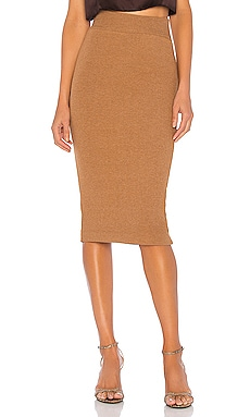Sweater Knit Midi Skirt Enza Costa $132 BEST SELLER