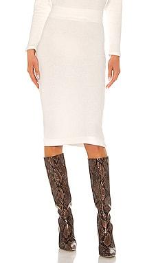 Sweater Knit Midi Skirt Enza Costa $132