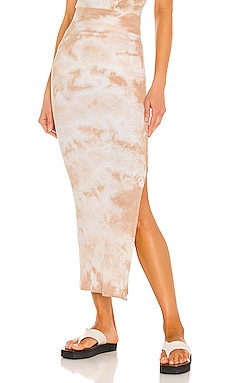 Silk Rib Pencil Skirt Enza Costa $198