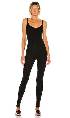 Rib Strappy Jumpsuit