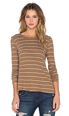 Cashmere Long Sleeve Flare Top