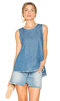 Trapeze Tank in Rinse