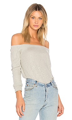 Cashmere Off The Shoulder Top