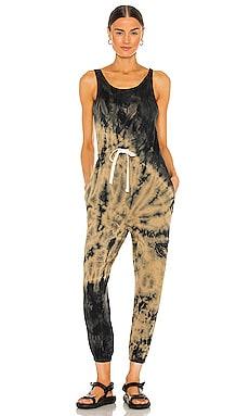 Torrey Jumpsuit Electric & Rose $130