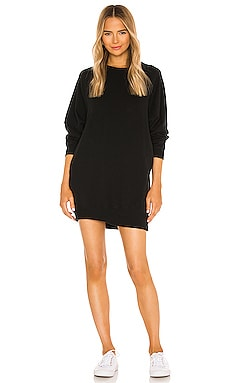 Sunday Sweatshirt Dress Electric & Rose $168