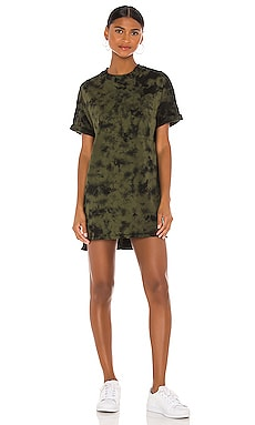 x REVOLVE Catalina Tshirt Dress Electric & Rose $108