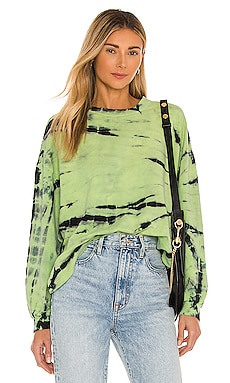 Neil Sweatshirt Electric & Rose $158 NEW