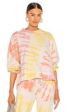 Neil Sweatshirt Electric & Rose $51